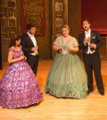 From left, Maria Elena Armijo, mezzo soprano, Christian Bowers, baritone, Kerri Marcinko, sopano, Mathew Edwardsen, tenor,