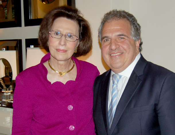 Paulette Poulos and Jim Gianopulos Photo: Demetrios Rhompotis