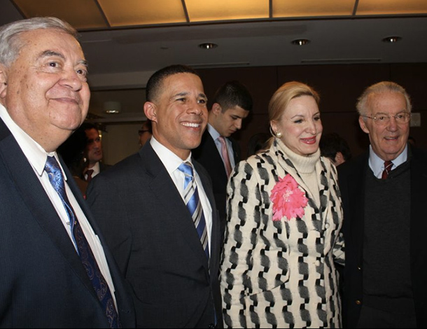 Aris Melissaratos, Lt. Governor Anthony Brown, Christine Warnke, Senator Paul Sarbanes