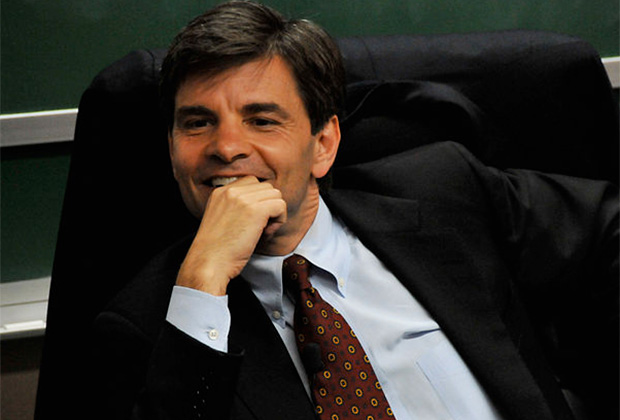 George Stephanopoulos will preside as master of ceremonies