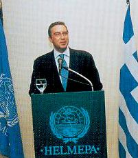 Nikolas Tsakos, President and Chief Executive Officer of T.E.N.