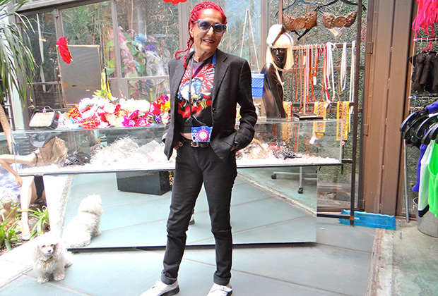 "Patricia Field - ""My yiayia was very educated; information galore. I was very, very fortunate and that's where I learned to speak Greek. And then through my life I tried to keep it or improve it. I like it. I like that I can speak it. I can't speak it very well but I can speak it OK."""