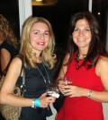 From left, Callie Lappas, Estelle Nikolopoulos. PHOTO: ELENI KOSTOPOULOS