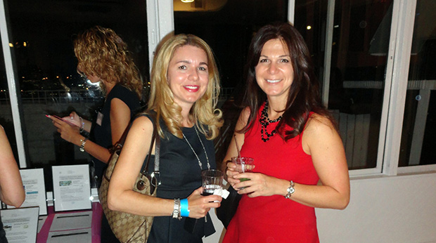 From left, Callie Lappas, Estelle Nikolopoulos. PHOTO: ELENI KOSTOPOULOS