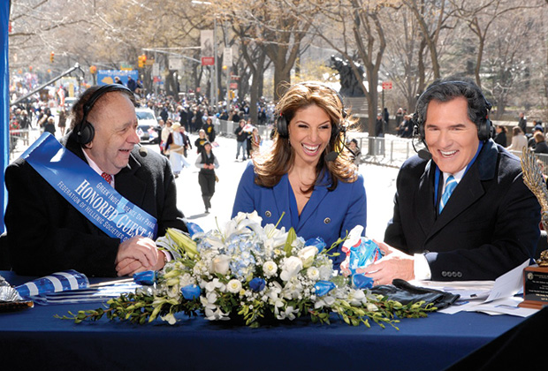 Hosting the Greek Parade with Nicole Petallides and Michael Constantine