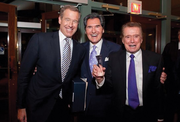 Ernie was inducted into the NY State Broadcasters Hall of Fame with friend Brian Williams NBC and Regis Philbin