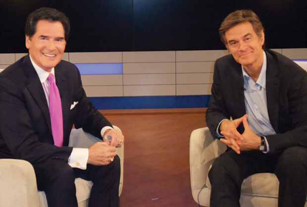 With Dr. Oz on Ernie's positive shows