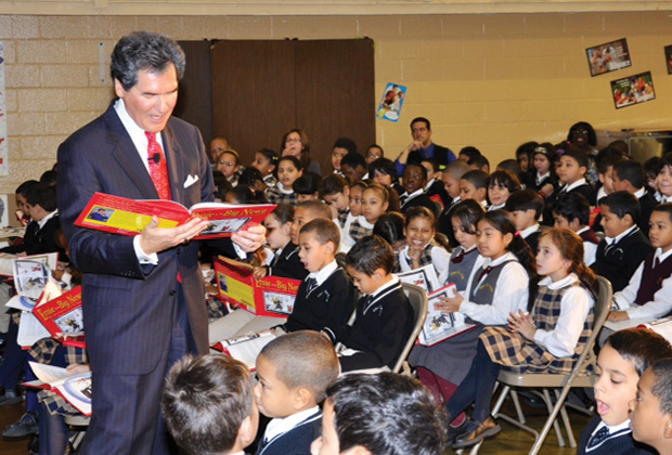 Ernie Anastos is also author of two children books