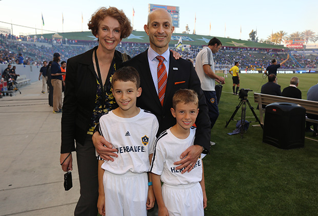 Chris Tsakalakis with family