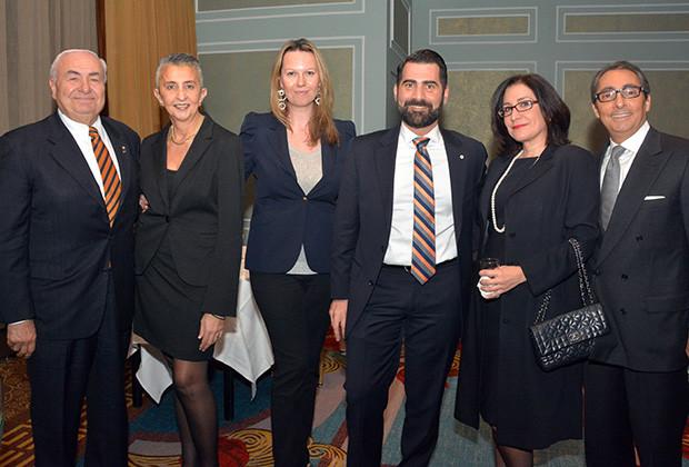 From left, Stephen Cherperlis, Zoe Koutsoupakis, Monika Buono, Jack Kivotidis, Fanny Trataros, Mathew Mironis, PHOTO: ETA PRESS
