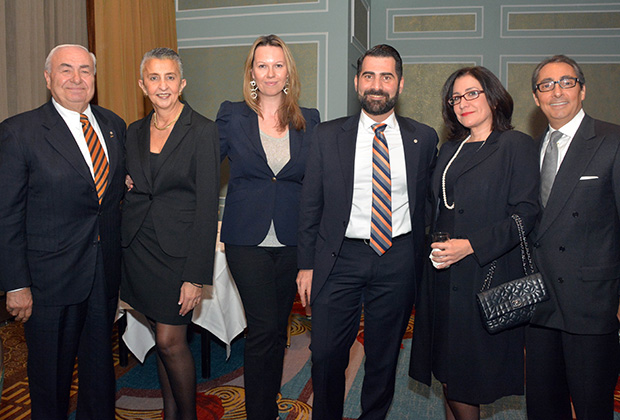 From left, Stephen Cherperlis, Zoe Koutsoupakis, Monika Buono, Jack Kivotidis, Fanny Trataros, Mathew Mironis, PHOTO: ETA PRESS