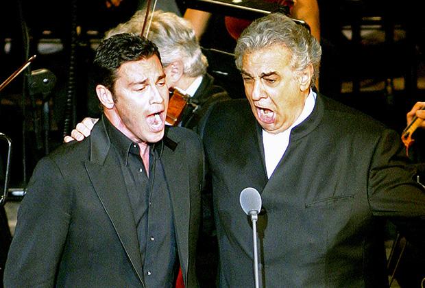 Mario Frangoulis & Placido Domingo