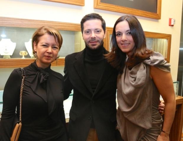 Amalia Kosmetatos, Chryssanthos Panas, Elena Syraka, PHOTO: WENDY PLOGER