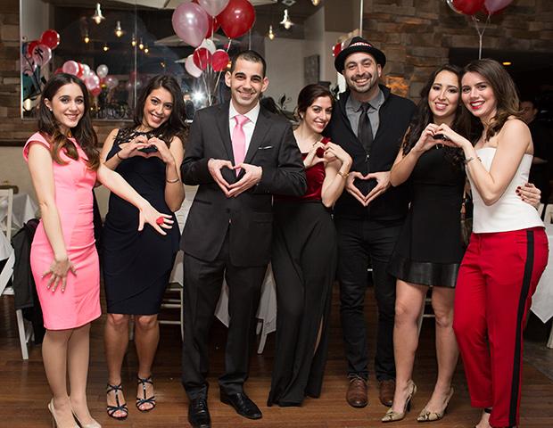 2014 Cyprus Sweethearts Committee - Christina Shailas, Eleni Eracleous, Stathis Theodoropoulos, Laura Neroulias, Demetrios Comodromos, Petroula Lambou, Maria Fillas, PHOTO: VINCENT TULLO