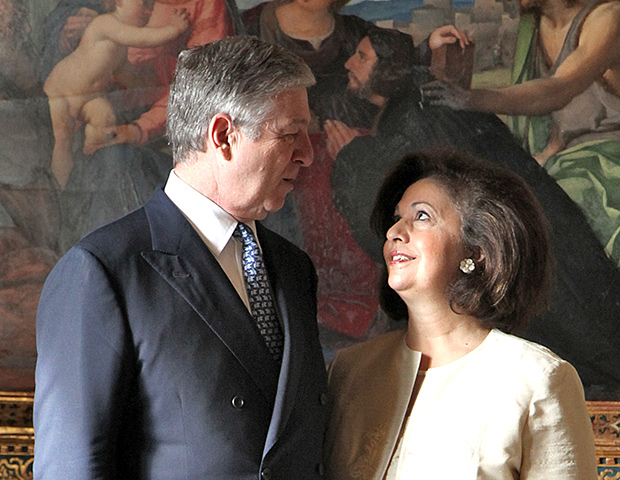 Their Royal Highnesses Crown Prince Alexander and Crown Princess Katherine