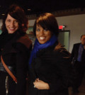 Baltimore City Mayor Stephanie Rawlings-Blake (right) and Deputy Mayor Kaliope Parthemos