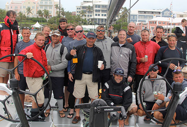 Team Shockwave, First Place Finish at 2012 Newport, Bermuda Race, setting new record