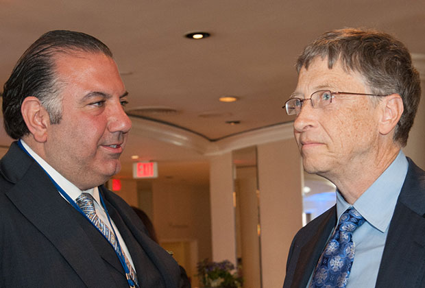 John Koudounis, Bill Gates