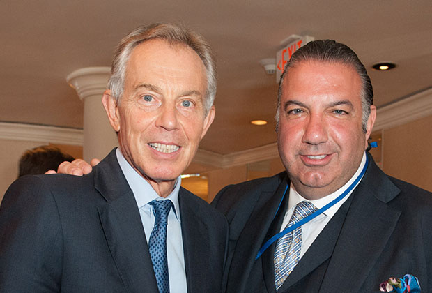 Tony Blair, John Koudounis