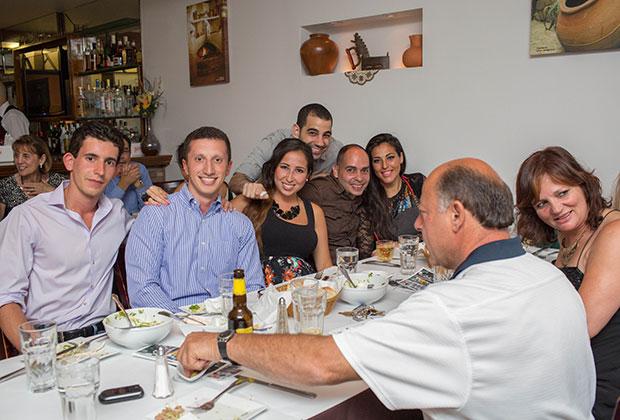 Petroula Lambrou and friends - PHOTO: VINCENT TULLO