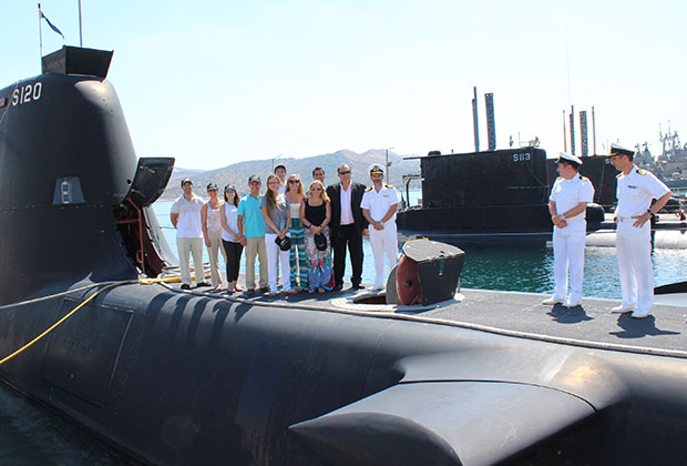 Boarding the HS Papanikolis Submarine