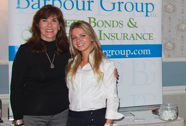 Eleni Marketis with her Bonding Agent Karen Barbour from The Barbour Group;