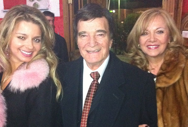 With parents Constantinos & Kathy Marketis;