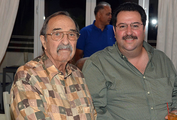 George and son John Levas