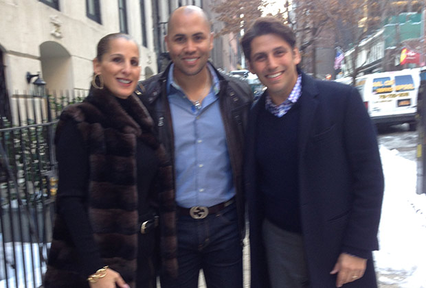Angela Dooley, Yankees Player Carlos Beltran and Nicholas Colombos