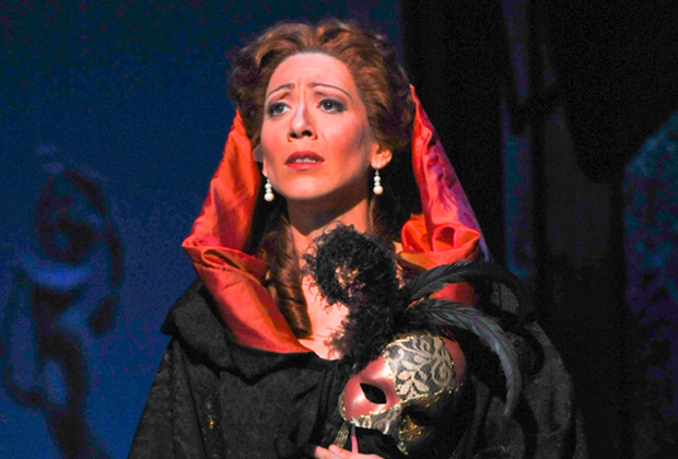 "As Donna Elvira in ""Don Giovanni"""