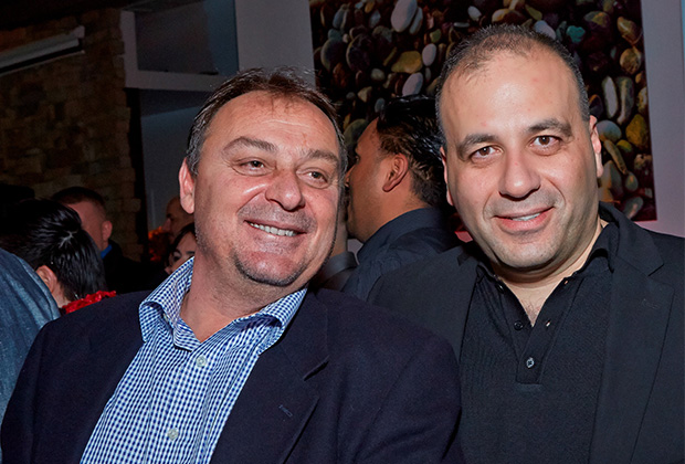 Jerry Drenis and Charalambos Beys, Marathon Energy's President and Vice President respectively. PHOTO: ANASTASSIOS MENTIS