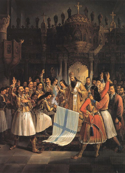 Theodoros Vryzakis, (Oil painting, 1852)