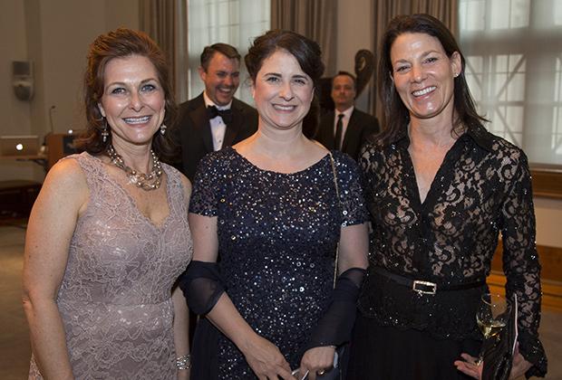 NHM Executive Director Elizabeth Martin, Laura Calamos, and Katherine Quinn.