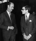 Paul Ioannidis with Alexander Onassis