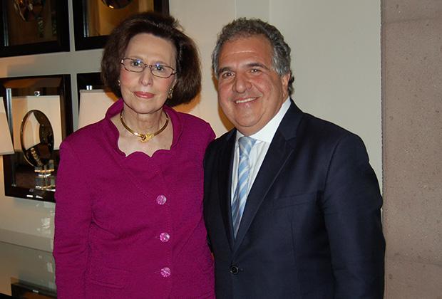 Paulette with her Brooklyn Sunday School student Jim Gianopulos, Chairman & CEO of 20th Century Fox Film, PHOTO: NEOmagazine