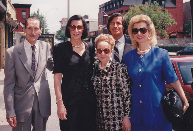 Paulette with her parents Charles and Rebecca Poulos, sister Carol and brother Peter Poulos