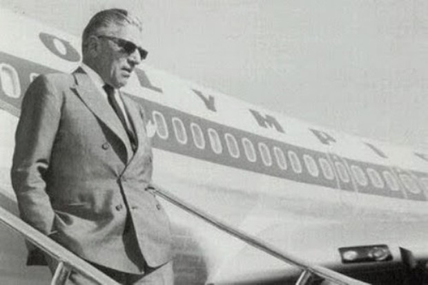 Olympic Airways, founded by Onassis, was one of the best airlines in the world