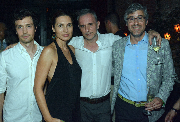 Christian Coulson, Chryssa Avrami, Author Ioannis Pappos and Mo Rocca
