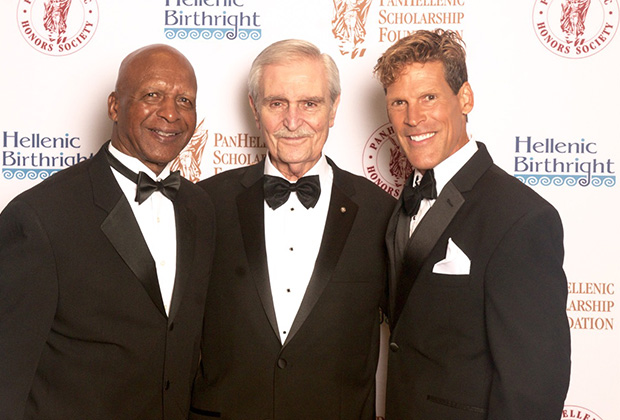 Secretary of State Jesse White, Founder & Chairman of the Scholarship Foundation Chris Tomaras, and Dean Karnazes