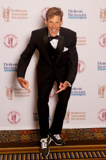 Paradigm Award recipient, ultra-marathon man Dean Karnazes