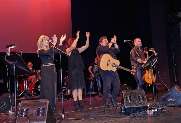 """""""GREEK MUSIC JOURNEY 2013"""" - From Left, Elena Maroulleti, Dimitra Papiou, Lavrentis Machairitsas, Panagiotis Margaris, PHOTO: ANASTASIO MENTIS"""