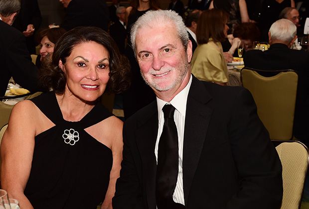 The Greeks exhibition is made possible in part by a generous donation from The John P. Calamos Foundation, and John P. Calamos, Sr., Chairman of the Board of Trustees at the National Hellenic Museum. Here with his wife Mae, PHOTO: DIMITRIOS  PANAGOS