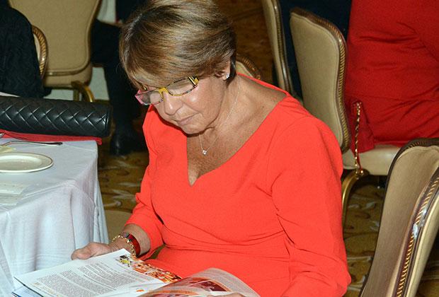 Mrs. Libby Angeliades, PHOTO: ETA PRESS