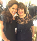 Christina with Cynthia Molos, Vice President of the PTA