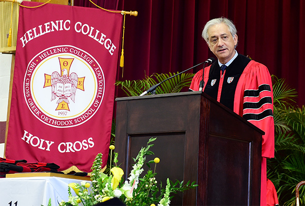 George S. Tsandikos Addresses 73rd Commencement at Hellenic College/Holy Cross Greek Orthodox School of Theology in May of 2015 PHOTO:© DIMITRIOS PANAGOS-GANP/ΔΗΜΗΤΡΗΣ ΠΑΝΑΓΟΣ