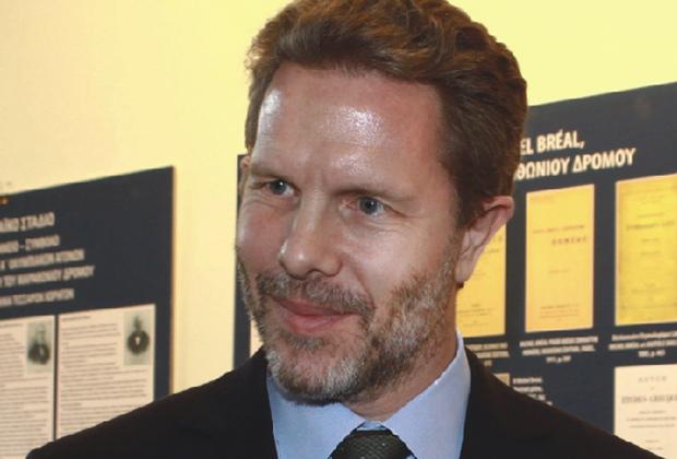 Pavlos Yeroulanos, Photo by Υπουργείο Εξωτερικών