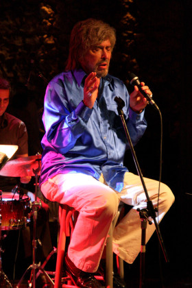 Six time Grammy nominee Mark Murphy at Gazarte Club