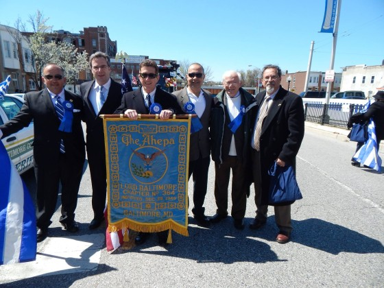 The AHEPA delegation