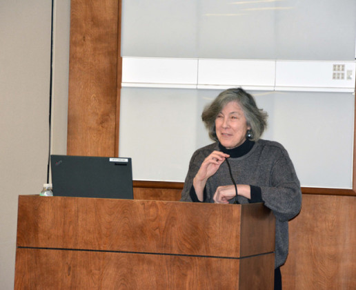 Dr. Julia Smith, during her speech, PHOTOS: ETA PRESS