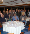 Members of AHEPA's District 6 Gold Coast Chapter 456 at the end of their monthly meeting at the Port Washington Yacht Club, PHOTOS: ETA PRESS